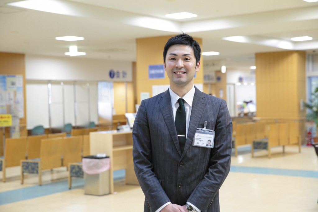 未来大OB田中さん