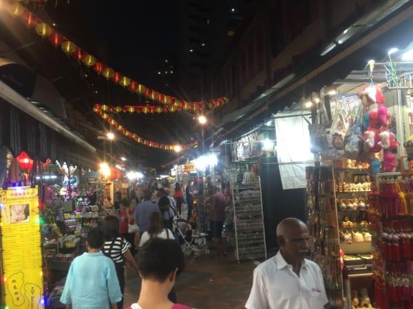 シンガポールの屋台街