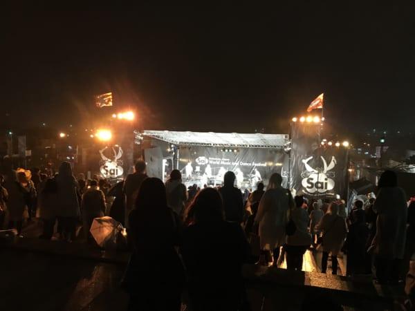 はこだて国際民俗芸術祭の風景