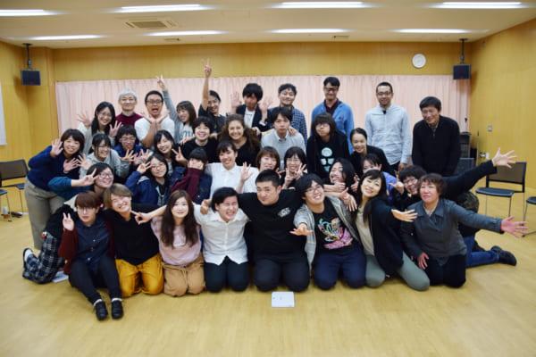 「演劇大学in函館2018」参加者一同